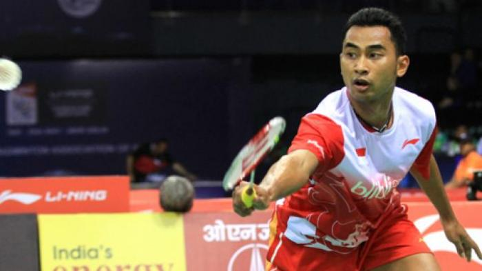 LIVE STREAMING BWF World Tour Finals 2018 Day 3, Sedang Berlangsung Tommy Sugiarto Vs Momota