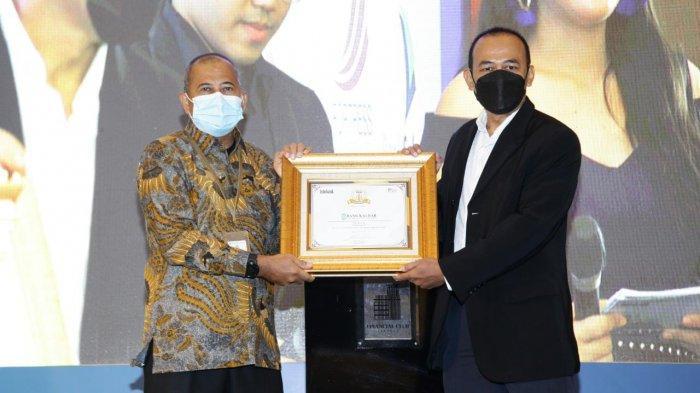 Bank Kalbar Raih Penghargaan Infobank TOP BUMD Awards 2021