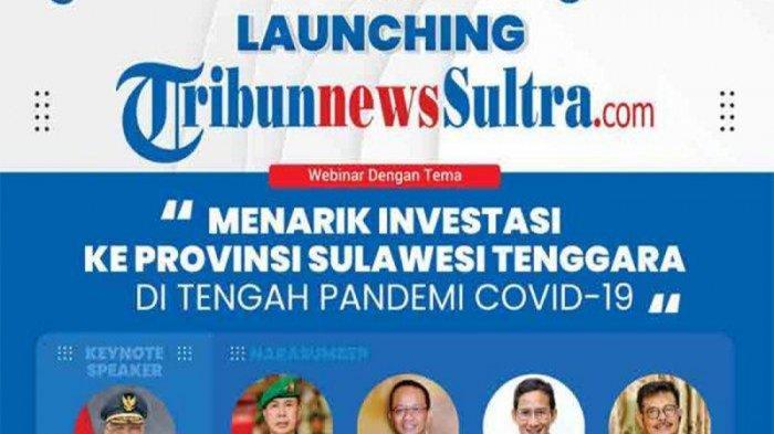 Tribun Network Launching TribunnewsSultra.com Hari Ini,3 Menteri Dijadwalkan Isi Seminar Investasi