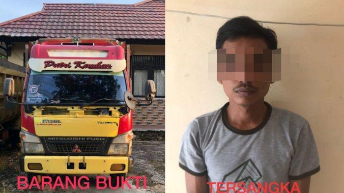 Diduga Mencuri Truk, Seorang Pria Ditangkap Personel Polres Melawi