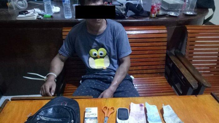 Polsek Jagoi Babang Tangkap Tersangka Penyalahgunaan Narkoba, Ini Barang Bukti Yang Disita