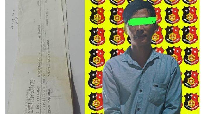 Polsek Kuala Mandor B Tangkap Tersangka Pengelapan dan Penipuan Kasus Pembayaran Rekening PLN