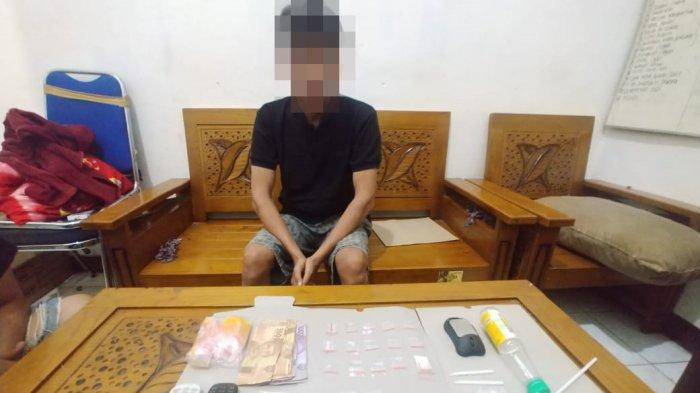 Satresnarkoba Tangka Tersangka Pengedar Narkoba, Ini Barang Bukti Yang Disita
