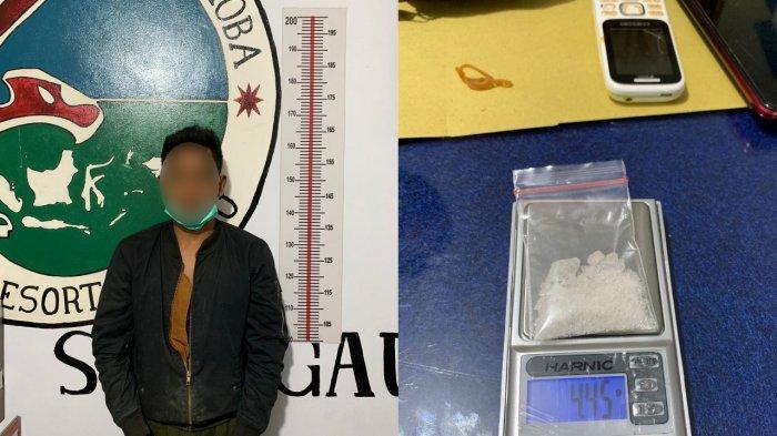 Kedapatan Simpan Sabu, Warga Pontianak Timur Ditangkap Polisi di Kecamatan Meliau