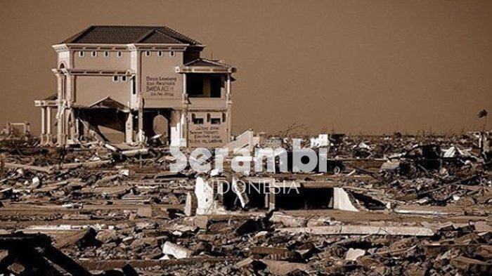 Peristiwa Tsunami Aceh   Bencana Terbesar 16 Tahun Silam - Kronologi Tsunami Aceh 26 Desember 2004