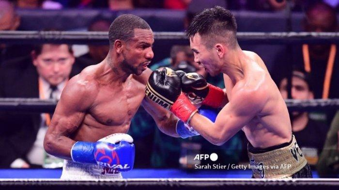 Jadwal Tinju Chris Colbert vs Tugstsogt Nyambayar Live TVOne Live World Boxing Jam 09.00 WIB