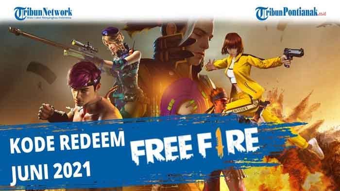 Tukar Kode Redeem Free Fire 19 Juni 2021, Dapatkan Hadiah Menarik dari Redeem Code FF