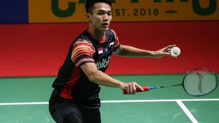 Jadwal Chinese Taipei Open 2019 & Hasil Drawing Taiwan Open 2019: Jonatan Christie Vs Shesar Hiren