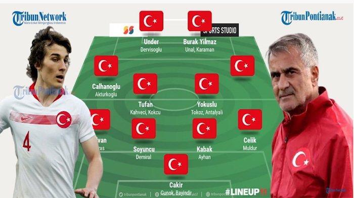 Turki EURO 2020 - Klasemen Grup A EURO, Live Hasil, Jadwal, Daftar Pemain, Sejarah, Pemain Andalan