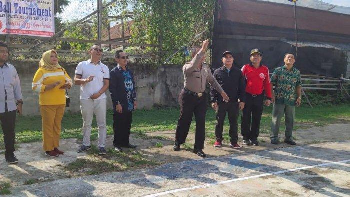 32 Tim Ikuti Turnamen Bola Voli Pelajar SMA se-Kabupaten Melawi yang Digagas STKIP Melawi