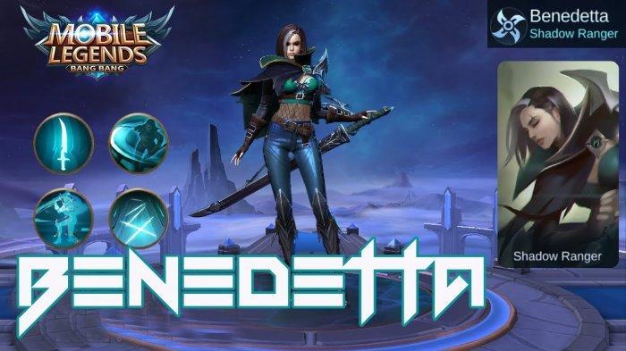 TUTORIAL Benedetta Mobile Legends Hero Baru Assassin - Gameplay dan Set Build Item Benedetta