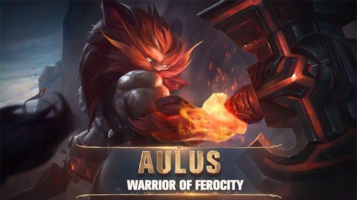 Tutorial Cara Bermain Aulus Fighter Baru Mobile Legends - Gameplay, Build Item Wajib dan Set Emblem