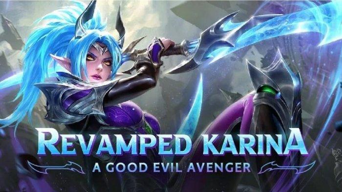 Tutorial Karina Revamp Mobile Legends - Build Item Karina Tersakit 2021, Kelebihan dan Kekurangannya