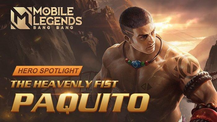 TUTORIAL Paquito Hero Fighter Baru Mobile Legends - Emblem dan Build Item Paquito Tersakit