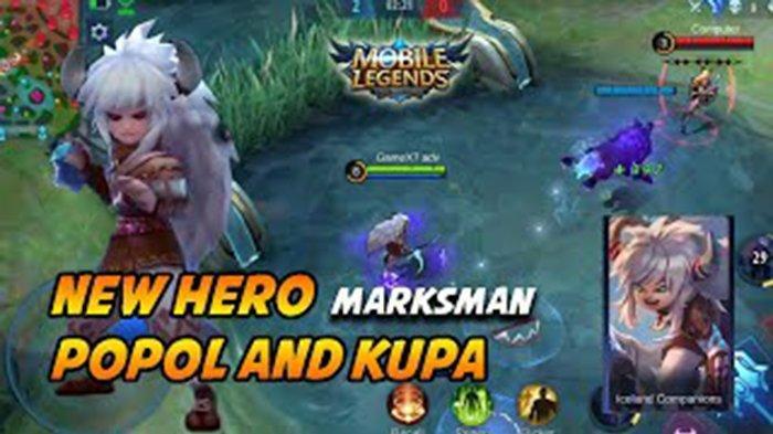 TUTORIAL Popol dan Kupa Hero Baru Mobile Legends, Marksman yang Susah Mati dan Mengerikan