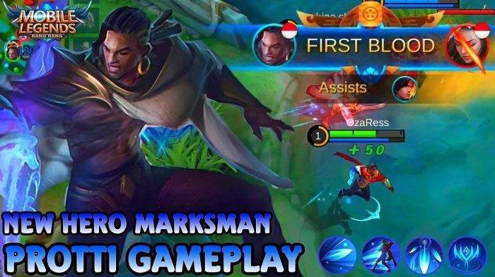 TUTORIAL Protti Hero Baru Mobile Legends - Marksman Critical Damage Terbesar dan Item Build Tersakit