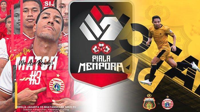TV Bersama Indosiar Live Streaming Persija Vs Bhayangkara FC Hari Ini Piala Menpora 2021 Grup B