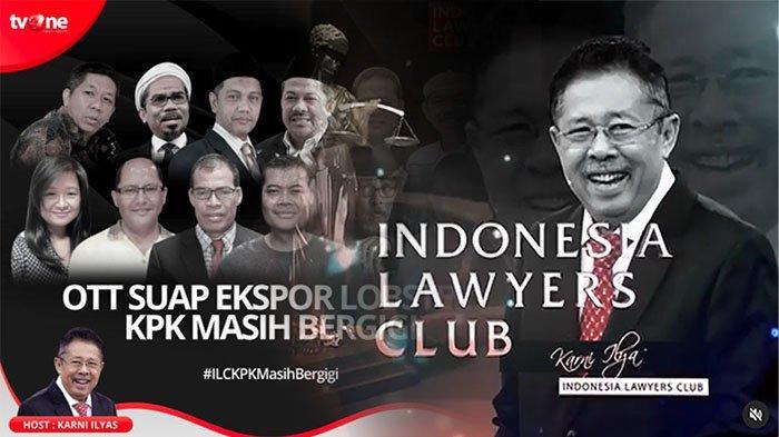 TV One Online Siaran ILC Terbaru, Fahri Hamzah Hingga Ali Mochtar Ngabalin Bahas Tema ILC Malam Ini