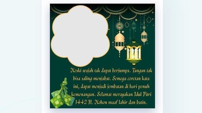 TERBARU Twibbon Lebaran! Cara Edit Foto Selamat Hari Raya Idul Fitri & Cara Edit Twibbon di Picsart