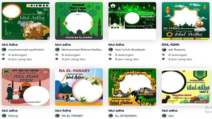 49 Twibbon Selamat Idul Adha 1442 H Download Gratis! Sangat Cocok Share WhatsApp dan Sosmed