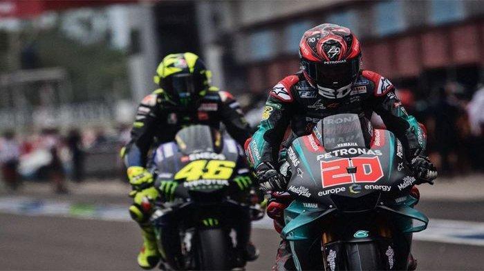 MOTOGP - Valentino Rossi 'Terusir' di Yamaha Digantikan Fabio Quartararo Dampingi Maverick Vinales