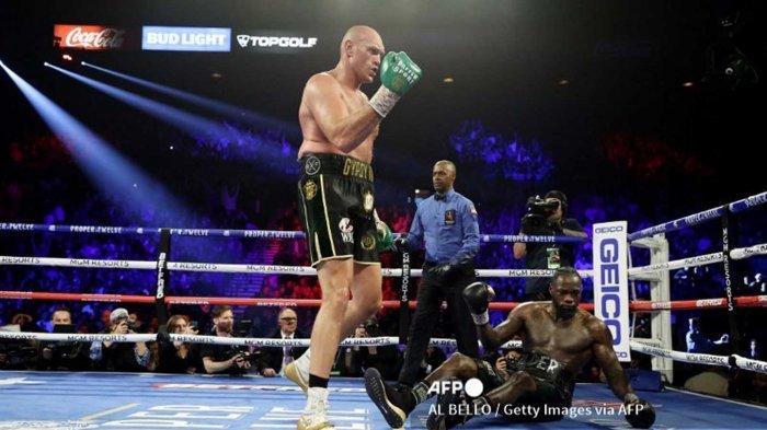 Jadwal Tinju Tyson Fury vs Deontay Wilder 3 Tinju Dunia Kelas Berat, Live World Boxing ESPN Plus