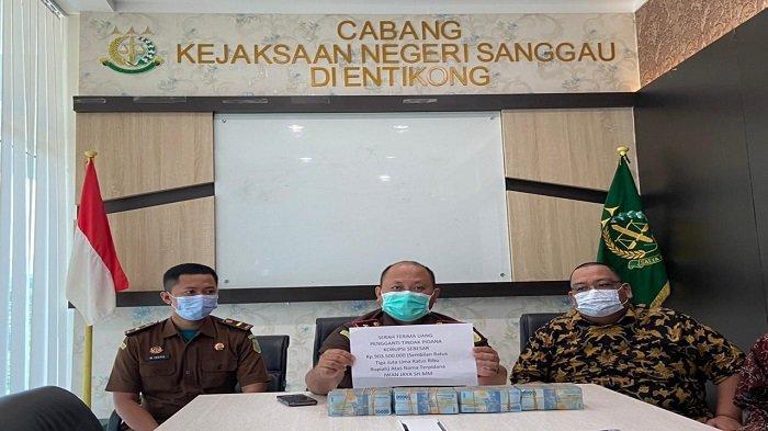Paparkan Kinerja 2021, Cabjari Sanggau di Entikong Berhasil Kembalikan Uang Negara Rp 917, 2 Juta