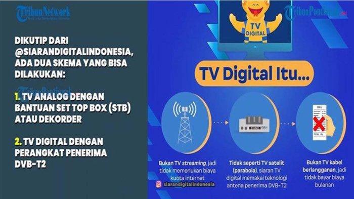 Ubah TV Analog ke Siaran TV Digital Tetap Gunakan Antena, Alternatif Pakai Set Top Box