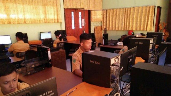 Ujian Sekolah Berbasis Komputer Pertama di Kota Singkawang