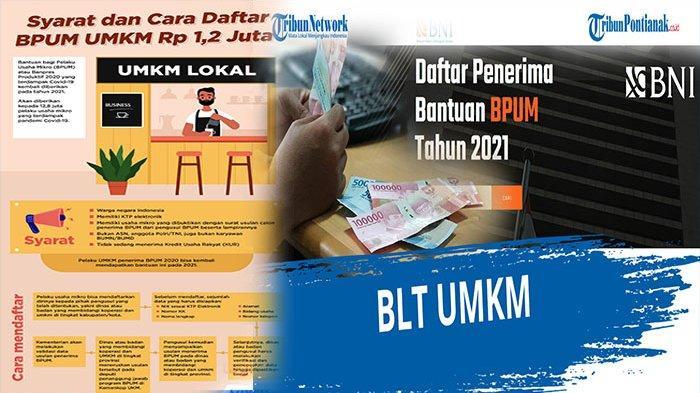 Cara Cek Nama Penerima BLT UMKM 2021 di BRI atau BNI, Klik Banpresbpum.id & Eform.bri Dapat 1,2 Juta