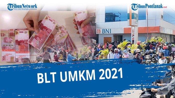 Eform BRI UMKM Cek NIK KTP Elektronik Status Penerima BLT UMKM 2021 Rp 1,2 Juta