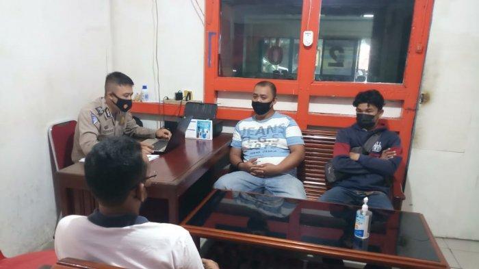 Tetap Patuhi Prokes, Unit Laka Lantas Polres Sambas Lakukan Pemanggilan Korban Laka Lantas