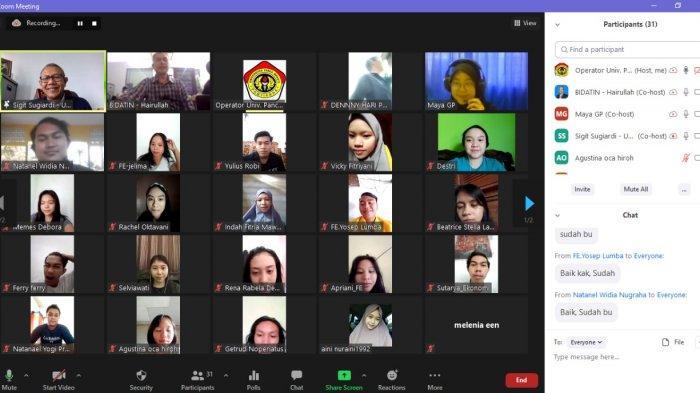 Coaching Clinic Sales Executive UPB Pontianak Tahun 2021