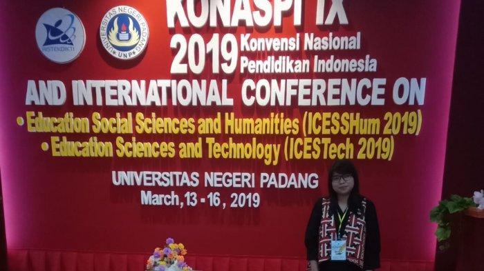 Verawardina Paparkan Hasil Penelitiannya di Konaspi IX 2019 dan International Conference