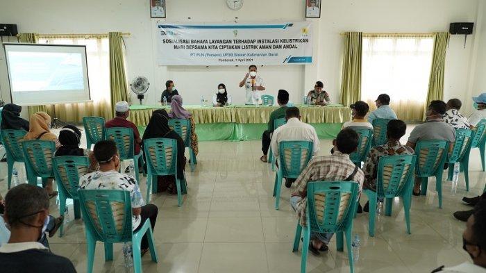 Kerap Terjadi Gangguan Listrik Akibat Layangan, PLN UP3B Beri Edukasi di Kelurahan Saigon