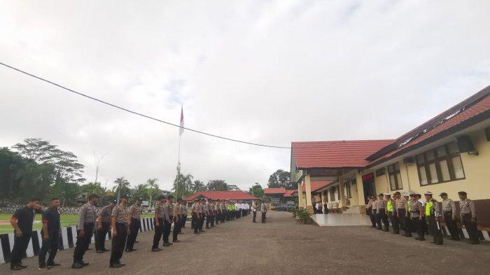 52 Personel Polres Landak dari Bintara hingga Perwira Dimutasi