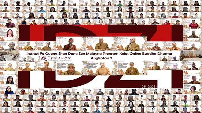 Kelas Online Buddha Dharma Institut Dong Zen Indonesia Angkatan Kedua (IDZI-2) Resmi Dibuka