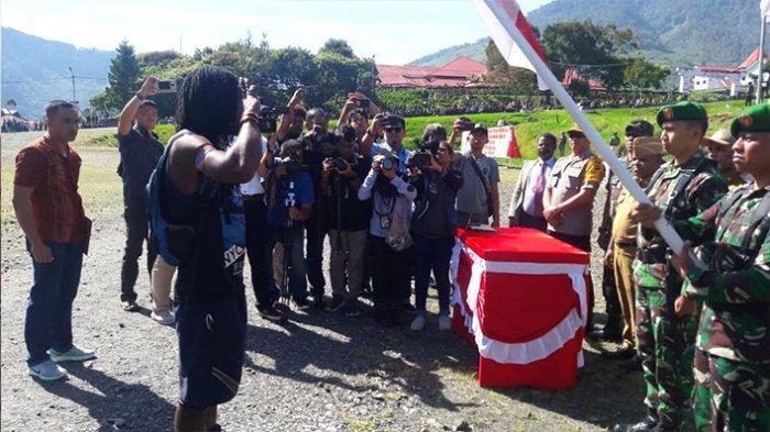 Mantan KSB Talengga Gire Resmi Kembali ke Pangkuan NKRI