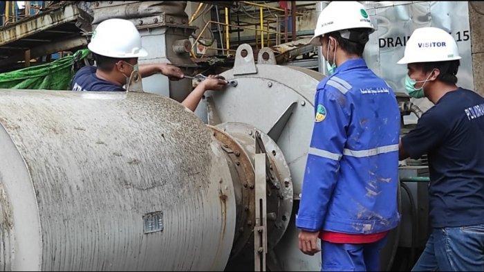 Perkuat Keandalan Pasokan Listrik, PLN Ketapang Lakukan Pemeliharaan Mesin Pembangkit