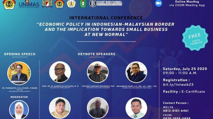 UPB Pontianak Bersiap Gelar International Conference Secara Daring