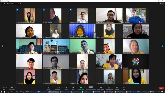 UPB Pontianak Menggelar Pelatihan Kepemimpinan Secara Daring
