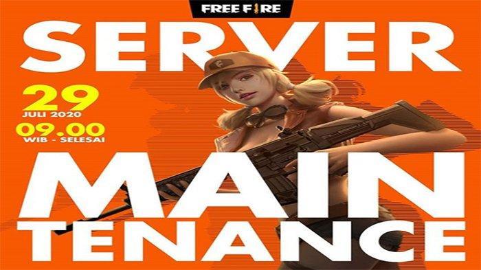 UPDATE Free Fire 29 Juli 2020 Maintenance Pukul 09.00 WIB - Ini Karakter, Pet dan Senjata Terbaru