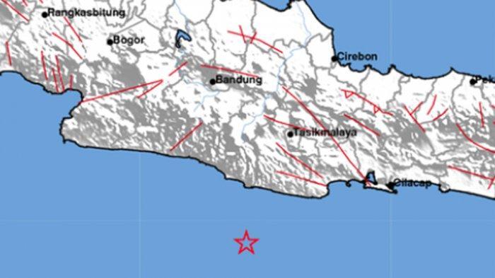 UPDATE Gempa Bumi Hari Ini Guncangan M3,7 diPangandaran, Getaran hinggaTasikmalaya dan Singajaya