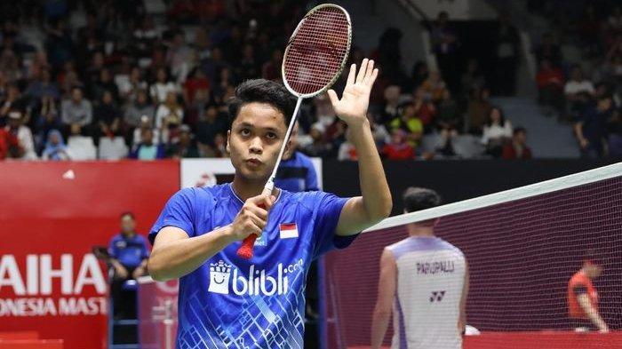 Jadwal Semifinal Badminton Thailand Open 2021 Live TVRI Mulai Pukul 11.00 WIB Ginting vs Axelsen