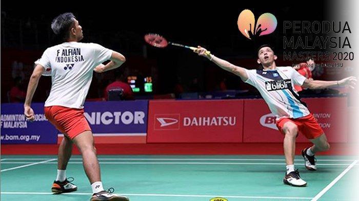 UPDATE Hasil Malaysia Masters 2020 Terkini   Drama Rubber Gim Derby Indonesia, Marcus/Kevin Tumbang