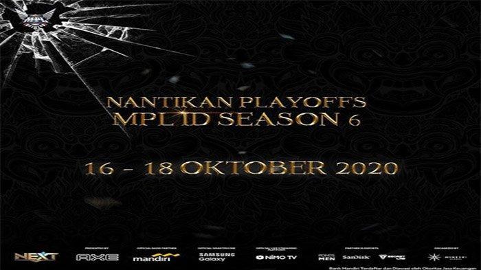 UPDATE Hasil Playoffs MPL Season 6 Lower dan Upper Bracket, Calon Lawan RRQ & Alter Ego di Semifinal
