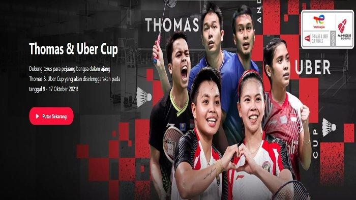 Live Hasil Thomas Uber Cup 2021 Sekarang Gregoria Mariska Tunjung Menang, Greysia / Apriyani ?