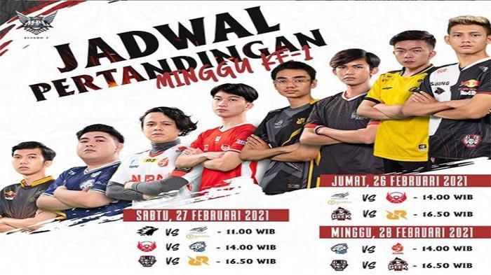 UPDATE Jadwal MPL ID Season 7 Pertandingan Pembuka dan Link Live Streaming Mobile Legends