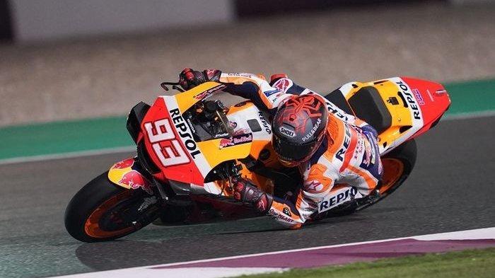 UPDATE MotoGP 2021 - Nasib Marc Marquez di Seri Perdana MotoGP Qatar 2021 Akhir Pekan Ini