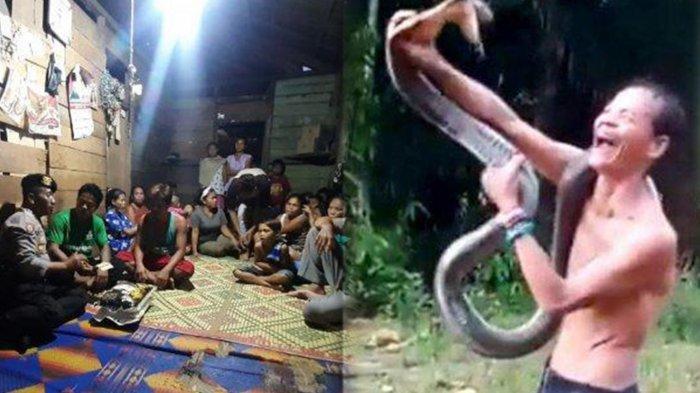 UPDATE Pawang Ular yang Tewas Dipatok King Kobra, Pihak Keluarga Minta Hentikan Komentar Negatif